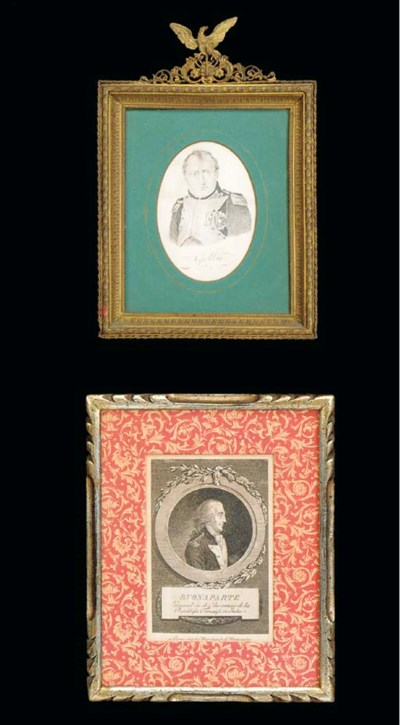 A GROUP OF FIVE ENGRAVINGS AND