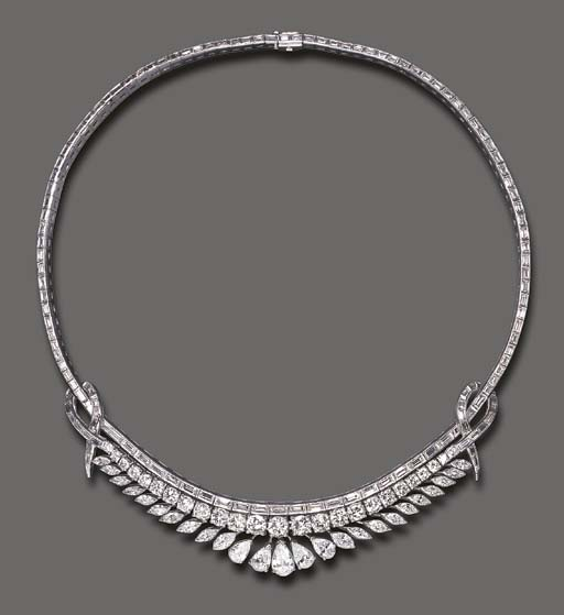 A DIAMOND NECKLACE, BY MARIANN