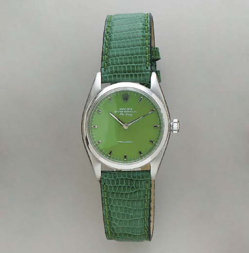 A GREEN STAINLESS STEEL
