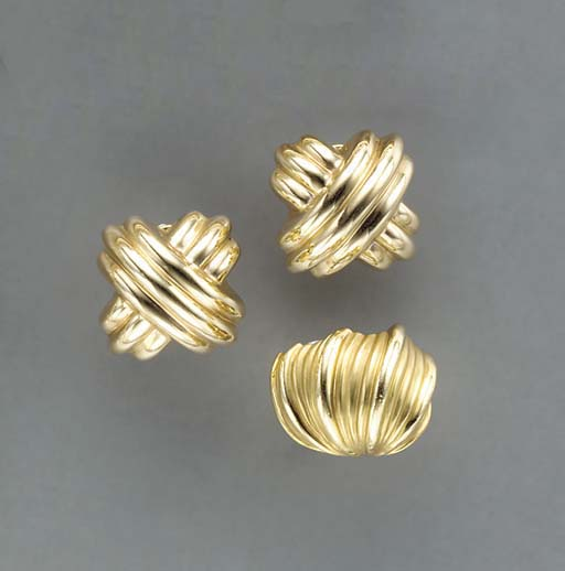 A GROUP OF GOLD, GEM-SET AND S