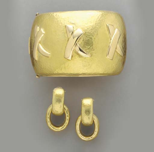 A GROUP OF 18K GOLD JEWELRY, P