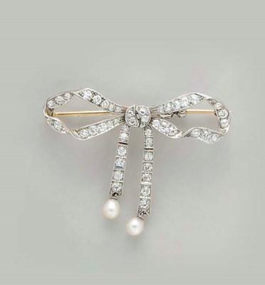 A BELLE EPOQUE DIAMOND, PEARL,