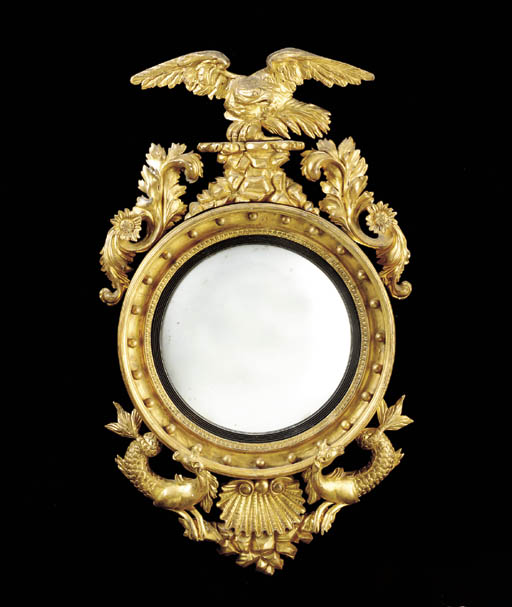 A REGENCY GILWOOD CONVEX MIRRO