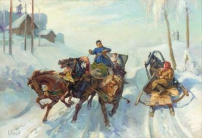 A. SOKOLOV (RUSSIAN SCHOOL)