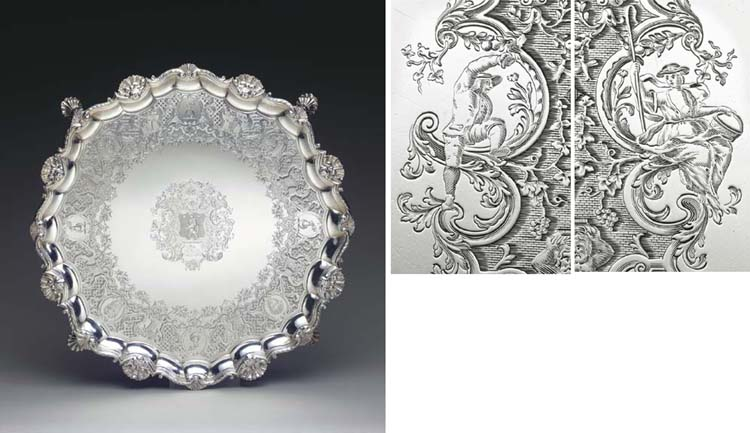 AN IMPORTANT GEORGE II SILVER