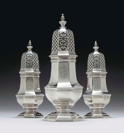 A FINE SET OF THREE GEORGE II