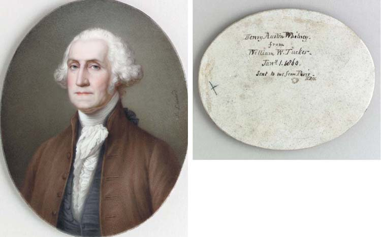 A FRENCH PORTRAIT PLAQUE OF GE