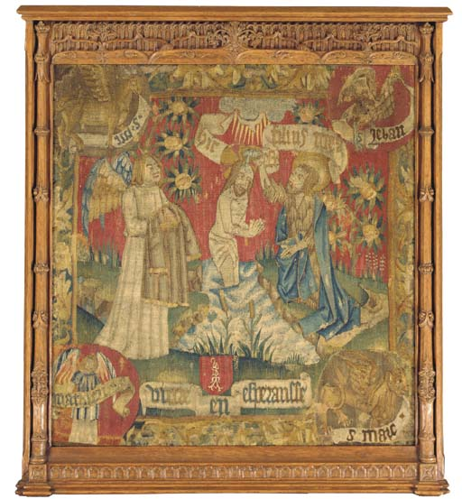 A GERMAN BIBLICAL TAPESTRY