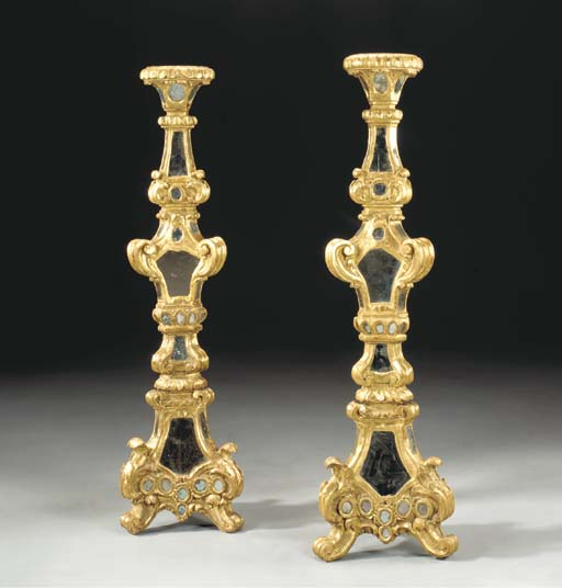 A PAIR OF SPANISH COLONIAL GIL