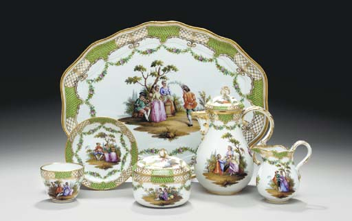 A MEISSEN GREEK MOSAÏK PART TE