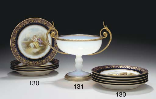 TEN SEVRES (OUTSIDE-DECORATED)