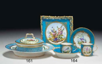 A SEVRES (LATER-DECORATED) BUT