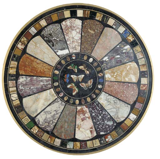 An Italian pietre dure and spe