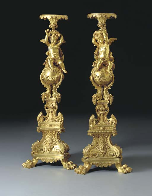 A fine pair of Napoleon III or