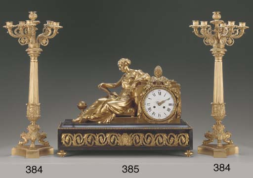 A Louis XVI style ormolu and e