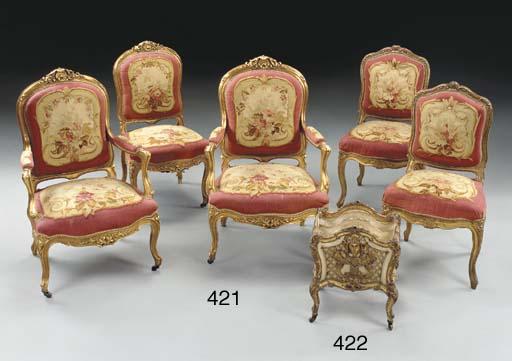 A Continental Rococo style par