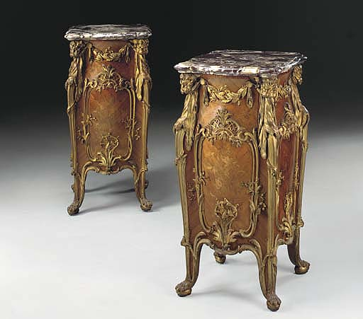 An important pair of Louis XV