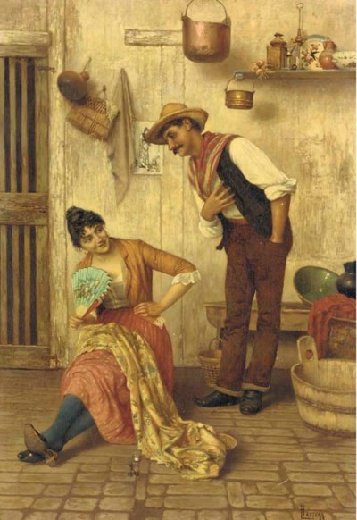 Luigi Pastega (Italian, 1858-1