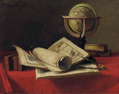 Francois Bonvin (French, 1817-