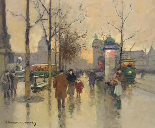 Edouard Léon Cortès (French, 1