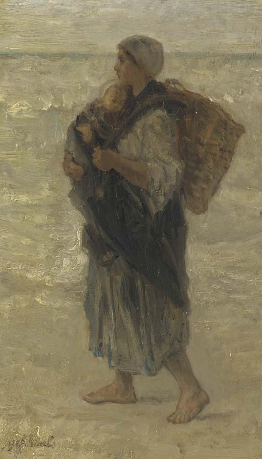 Josef Israels (Dutch, 1824-191
