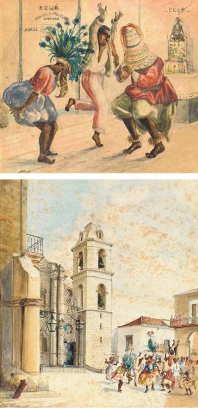 Victor Landaluze (Cuban 1828-1