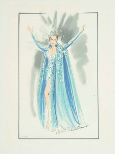 ESTHER WILLIAMS COSTUME SKETCH