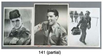 ELVIS PRESLEY IN THE ARMY PHOT