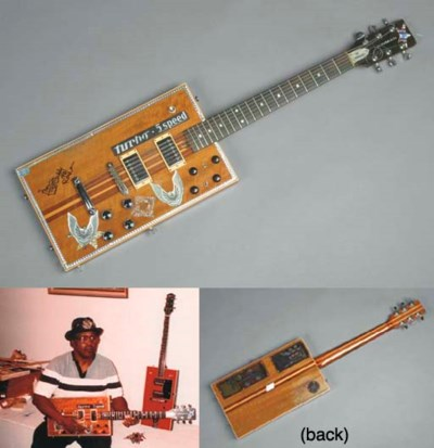 BO DIDDLEY OWNED AND PLAYED GU