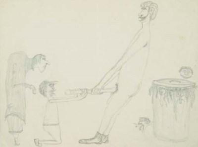 JIM MORRISON PENCIL DRAWING