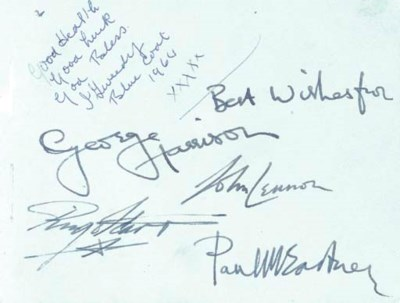THE BEATLES SIGNATURES