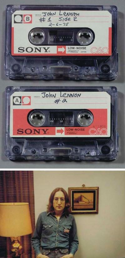 JOHN LENNON NEVER BEFORE HEARD