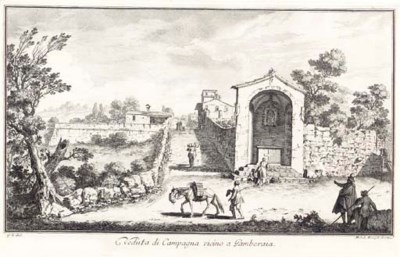 After Giuseppe Zocchi (1711-17