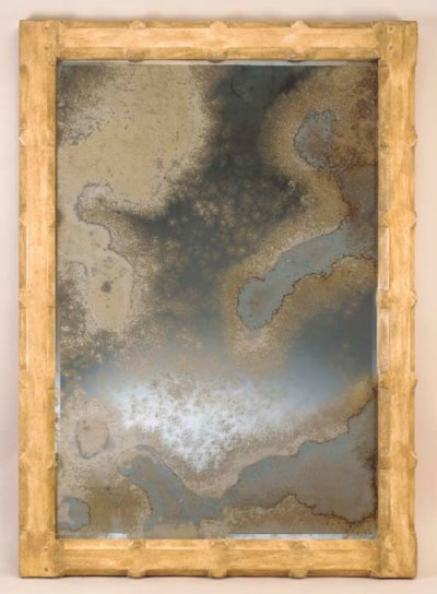 A CONTEMPORARY LARGE MIRROR,