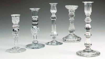 FIVE PAIRS OF EDWARDIAN CUT AN