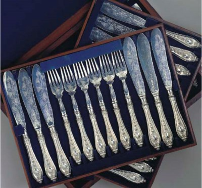 A GROUP OF VARIOUS SILVER PLAT