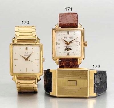 Tavannes. An unusual 18K gold