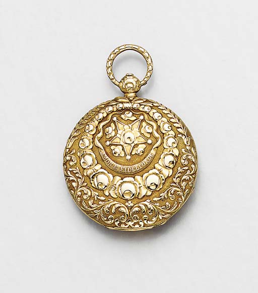 Friderich. An unusual 18K gold