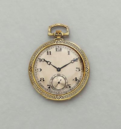 Jürgensen. A fine 18K gold and