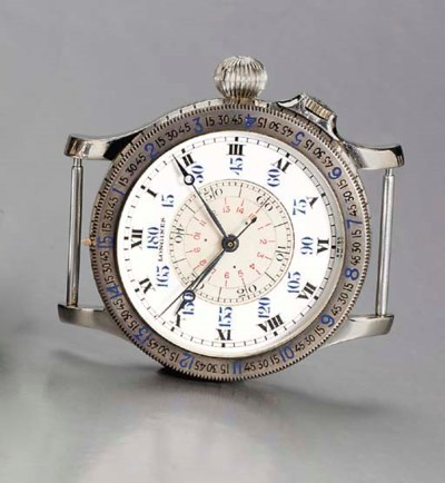 LONGINES. A RARE STAINLESS STE