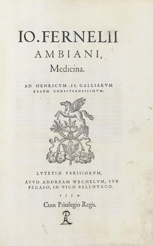 FERNEL, Jean François. Medicin