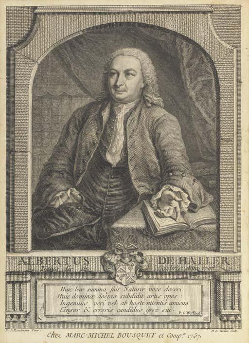 HALLER, Albrecht von. Elementa