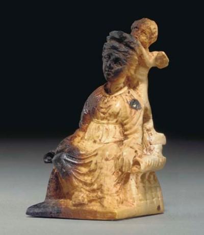 A ROMAN IVORY VENUS