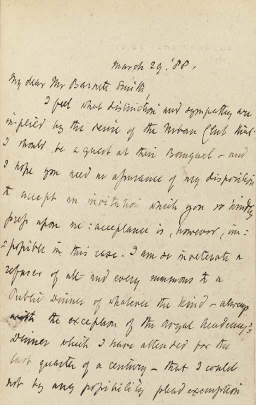 BROWNING, Robert (1812-1889). Strafford: An Historical Tragedy. London: Longman, Rees, Orme, Brown, Green & Longmans, 1837.