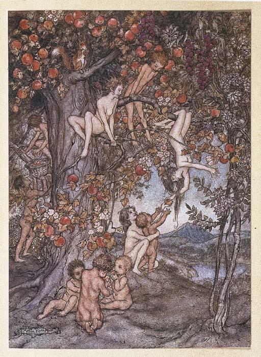 [RACKHAM, Arthur, illustrator]. -- HAWTHORNE, Nathaniel (1804-1864). A Wonder Book.  London: Hodder & Stoughton Ltd., [1922].