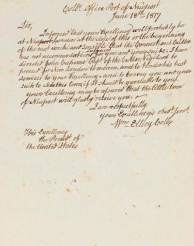 ELLERY, William (1727-1820), S