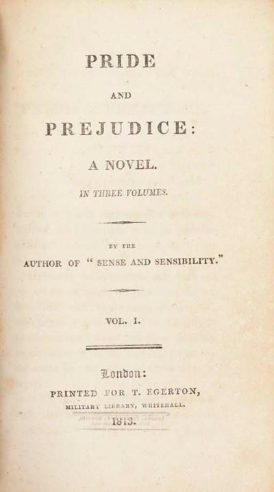 [AUSTEN, Jane]. Pride and Prej