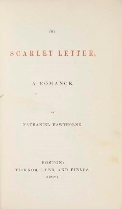HAWTHORNE, Nathaniel. The Scar