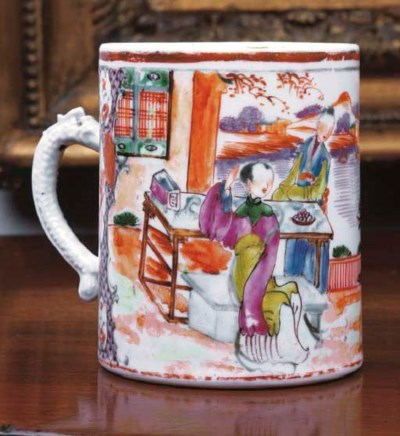 A CHINESE EXPORT PORCELAIN 'MA