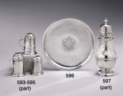 A GROUP OF SILVER ITEMS**